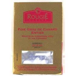 Foie gras de canard entier aux 2 poivres et champagne