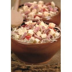 Salade Trio : Chou, Jambon, Comté