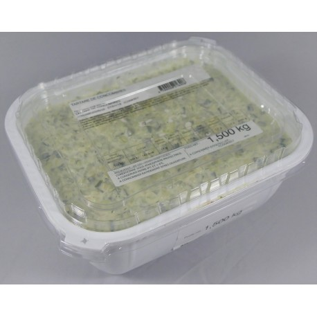 Tartare de Concombres, par 1,5 kg