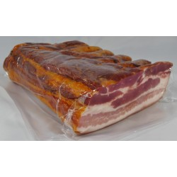 Poitrine de Porc Salée Fumée Crue, pièce de 1,7 kg