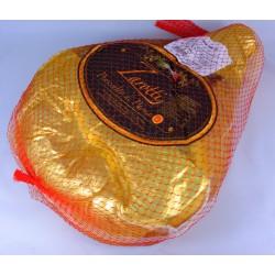 Jambon de Parme entier désossé de 8,400 kg.