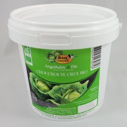 Choucroute Crue Bio, seau de 1 kg