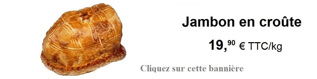 Jambon en croûte